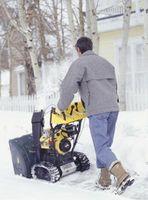 Come rimuovere un rotto Shear passaggio di un John Deere Snowblower