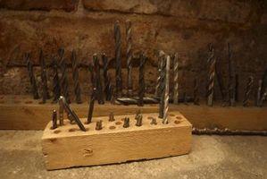 Tipi di punte di metallo Drill
