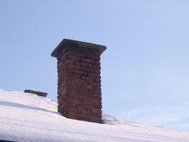 Garantire un camino in mattoni ad un tetto