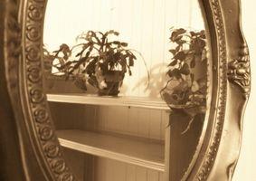 Come inserire il telaio su un ovale Specchio