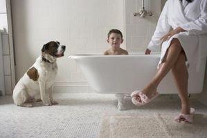 Come di rinnovare il look di un bagno con idromassaggio in legno Slipper