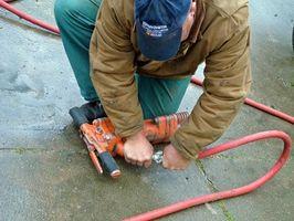 Come sostituire un serbatoio d'aria Compressore