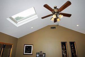 Come dipingere una stanza con soffitto a volta