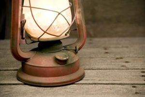 Come pulire cherosene lanterne