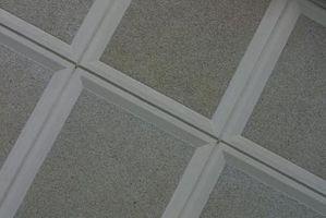 Come dipingere piastrelle amianto soffitto