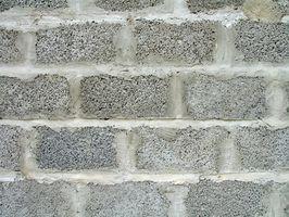Problemi parete blocchi di calcestruzzo