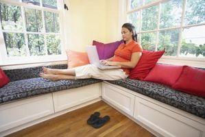 Come fare un posto vicino al finestrino in una zona lettura o Nook