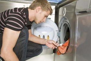 Come rimuovere la gomma da masticare Da una lavatrice