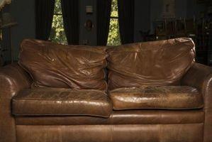 Cosa succede quando si mettere l'olio di legno su mobili in pelle?