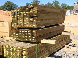 Trattamento legno Wolmanized