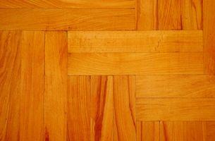 Come pulire un pavimento in legno con olio minerale o petrolio