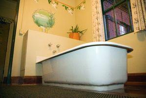 Come spostare uno scarico vasca da bagno