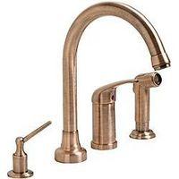 Rame antico rubinetti della cucina