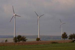 Turbine eoliche nel Forest Park, Illinois
