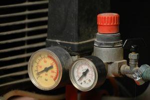 Come riparare ruggine su un serbatoio compressore d'aria