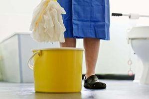 Come ottenere odore acido da un pavimento della cucina