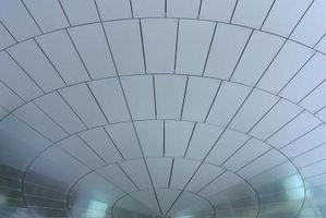 Come tagliare le piastrelle del soffitto da incasso