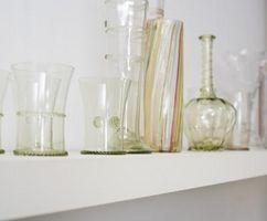 Cosa mettere in vasi di vetro per la decorazione della cucina