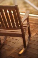 I tipi di sedie in legno