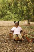 Sedie in legno per i bambini