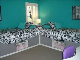Teen Girl arredamento camera da letto idee