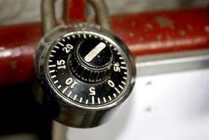 Come aprire le serrature a combinazione temprati
