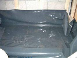 Come installare piatto doccia Liner su un basamento in cemento Piano
