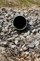 Come installare Tubi di fogna sotto il cemento esistente