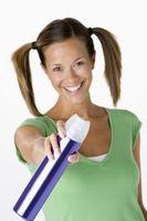 Come rimuovere le macchie di capelli Spray dal Muro