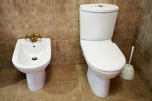 Toilette riparazione con resina epossidica in ceramica
