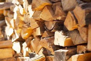 Come costruire un cavo di legna da ardere un rack di stoccaggio