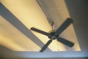 Come rimuovere un Hampton Bay montaggio a filo Ventilatore a soffitto