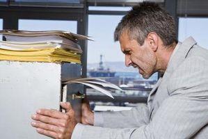 Quali sono alcuni modi per organizzare un sistema di archiviazione di Office?