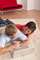 Come mantenere un tappeto Scatter di scivolare in cima a tappeto