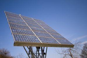 Come viene elettricità immagazzinata e liberato da pannelli solari?