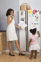 Come organizzare Foto su un frigorifero