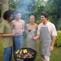 I fumatori fatti in casa e area barbecue