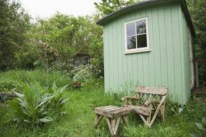 Come fare un capannone in una piccola casa