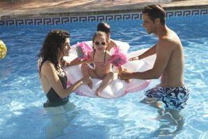 Che è troppo alto cloro in una piscina?