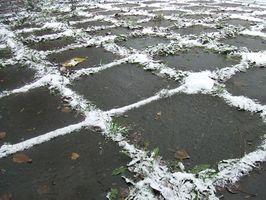 La rimozione della neve Safe From Nicolock piastrelle