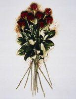 Come organizzare rose a stelo lungo in un vaso