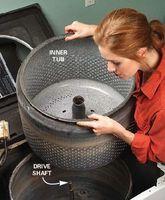 Come fare un falò fossa da una vecchia lavatrice idromassaggio