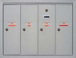 Come sostituire un appartamento di blocco delle cassette postali