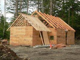 Come misurare & Cut Rafters per un tetto