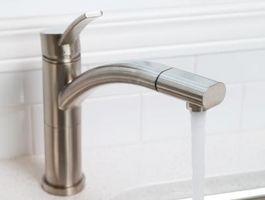 Come pulire i rubinetti in acciaio inossidabile