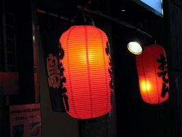 Come realizzare stampi di legno per lanterne giapponesi