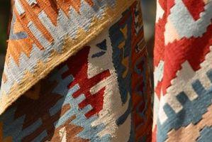 Come pulire e riparare Navajo Rugs