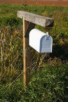 Come rimuovere un post mailbox