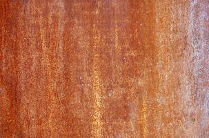 Come rimuovere Ferro e macchie di ruggine dal granito