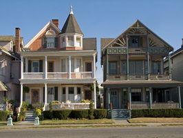 Tipi di case vittoriane